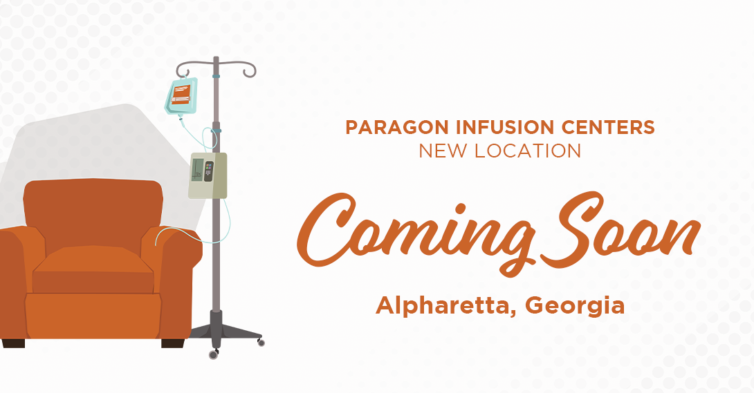 A brand new infusion center is coming soon to Alpharetta, GA