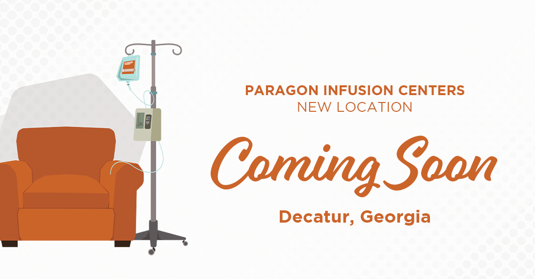 A brand new infusion center is coming soon to Decatur, GA
